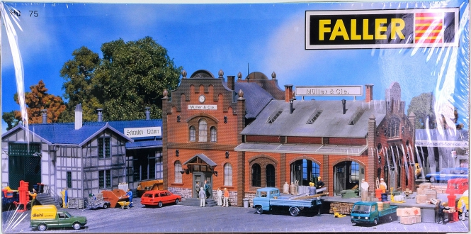 Faller 75 – Bausatz Gewerbegebiet