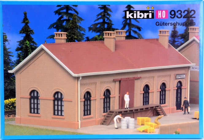 Kibri 9322 – Bausatz Güterschuppen