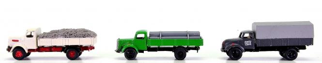 MZZ (1:160) – 3-teiliges Nutzfahrzeug-Set, Metall-Modelle