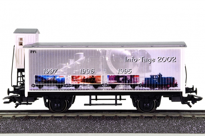 Märklin 4890.100 - Kühlwagen mit Bremserhaus Info-Tage 2002