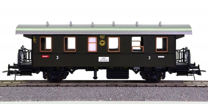 Roco – 3. Klasse Nahverkehrswagen der DRG