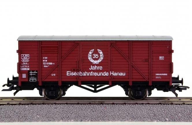 Roco 46001 – gedeckter Güterwagen Eisenbahnfreunde Hanau der DB