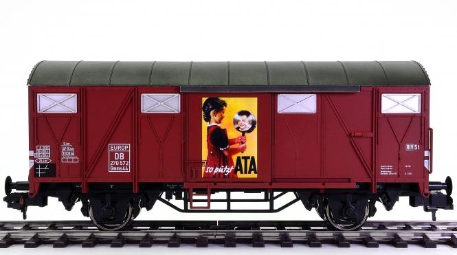 Märklin 58267 (Spur 1) – Gedeckter Güterwagen Gmms 44 ATA der DB