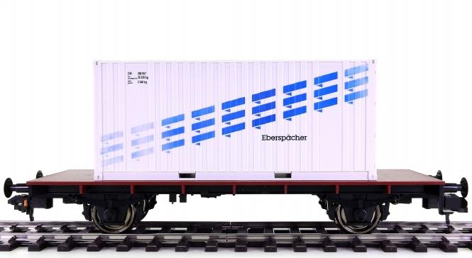 Märklin 5412 (Spur 1) - Behälter-Tragwagen Eberspächer der DB