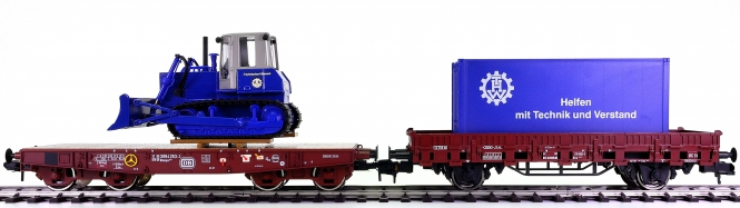 Märklin 58652 (Spur 1) - Güterwagen-Satz THW Hilfstransport der DB