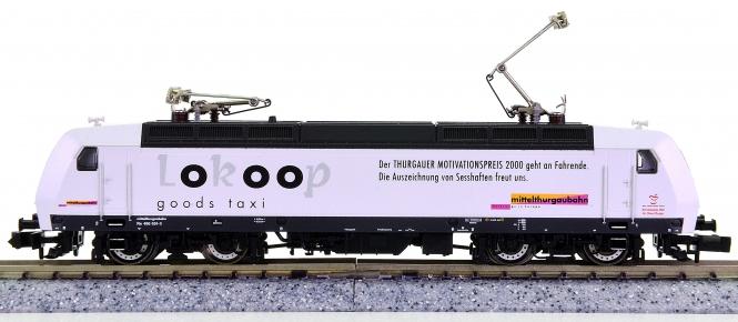 Fleischmann 907320 (N) – Elektrolokomotive Re 486 der Mittelthurgaubahn