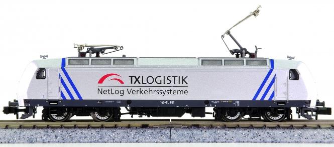Fleischmann 827321 (N) – Elektrolokomotive BR 145-CL 031 der TX Logistik AG