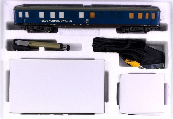 Märklin 49940 - Beobachtungswagen mit eingebauter Kamera