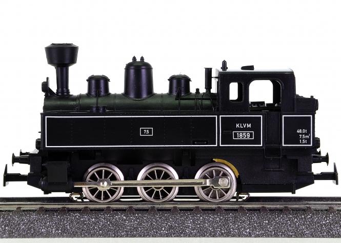 Märklin 36871 – Tenderdampflok der KLVM, digital (MM), schwarz