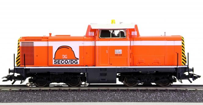 Märklin 83474 – Mehrzweck-Diesellok Serie 133 der SECO/DG, digital (Delta)