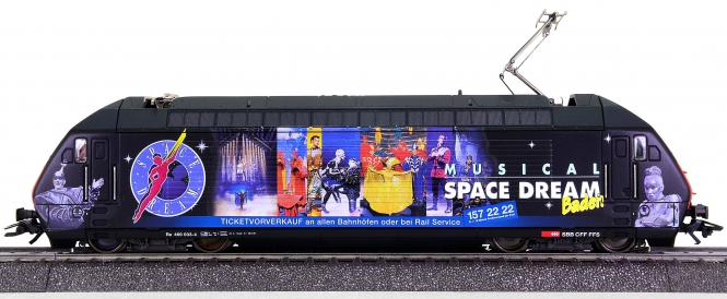 Märklin 34634 – Elektrolok BR 460 Space Dream der SBB, digital + C-Sinus