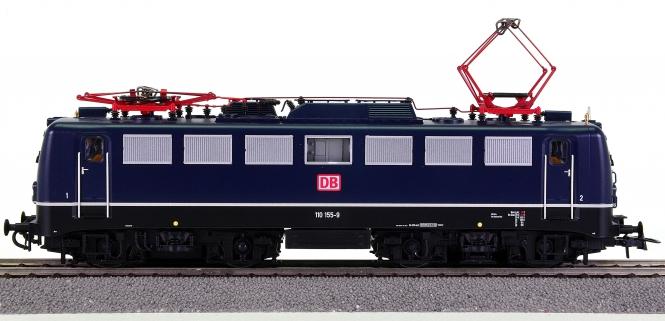 Roco 72565 – Schnellzug-Elektrolok BR 110 der DB AG, digital + Sound
