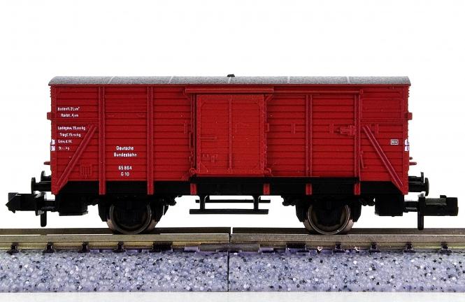 Fleischmann 8350 (N) – Gedeckter Güterwagen G 10 der DB