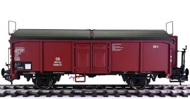 Hübner 20254 (Spur 1) – Gedeckter Güterwagen Kmmks 51 der DB