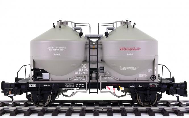 Hübner 20351 (Spur 1) – Staubgut-/Silowagen Kds 54 der DB