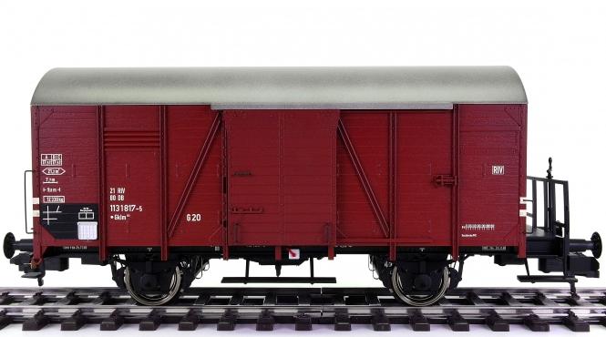 Hübner 2247-2-4-4A (Spur 1) – Gedeckter Güterwagen Gr 20 / Gklm der DB