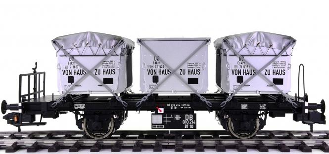 Hübner 2223-4-3-4 (Spur 1) – Containertragwagen BT 10 der DB