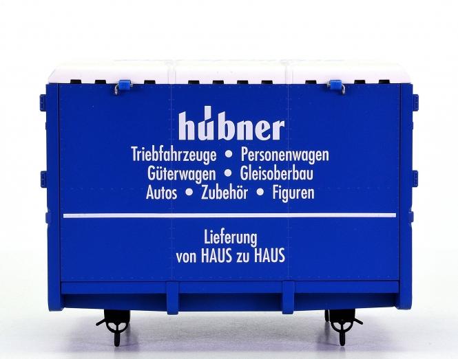 Hübner – Wechselbehälter 'von Haus zu Haus', Werbemodell