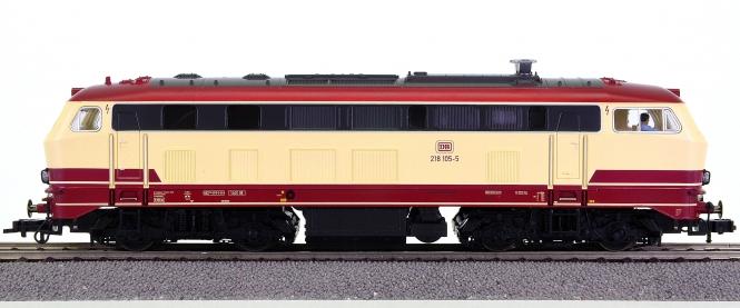 Fleischmann 423401 – Mehrzweck-Diesellok BR 218 der DB