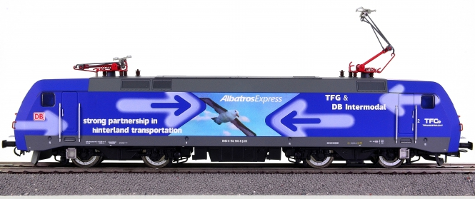 Rivarossi HR2250 – Elektrolok BR 152 der DB AG / TFG AlbatrosExpress