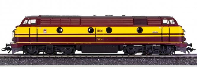 Märklin 83468 – Mehrzweck-Diesellok Serie 1801 der CFL, digital (Delta)