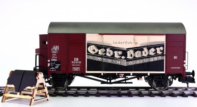 Märklin 58683 (Spur 1) – Güterwagen der Lederfabrik Gebr. Bader GmbH + Co.KG