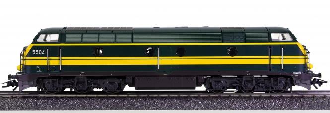 Märklin 3467 – Mehrzweck-Diesellok Serie 55 der SNCB, digital (Delta)
