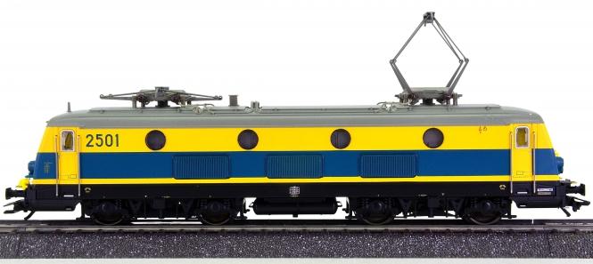 Märklin 37230 – Mehrzweck-Elektrolok Serie 25 der SNCB, digital (mfx)