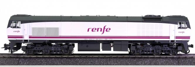 Roco 68758 (AC) – Mehrzweck-Diesellok BR 319 der RENFE, digital + Sound