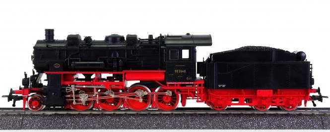 Fleischmann 1156 (AC) – Güterzug-Schlepptender-Dampflok BR 56 der DRG