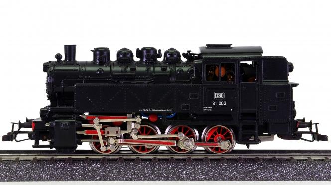 Märklin 3196 – Güterzug-Tenderdampflokomotive BR 81 003 der DB