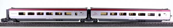 Märklin 43434 - Ergänzungswagen-Set 2 THALYS PBKA (37794)
