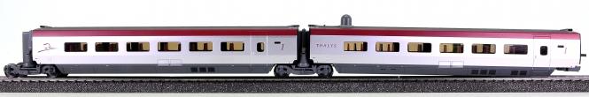 Märklin 43424 - Ergänzungswagen-Set 1 THALYS PBKA (37794)