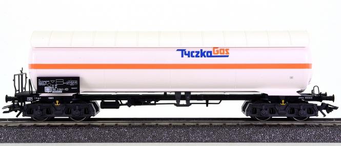 Märklin 48483 – Druckgas-Kesselwagen Tyczka Gas der DB