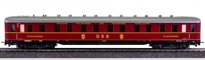 Liliput (Wien) 837 03 – Schnellzug-Schlafwagen WL 4üa der DSG