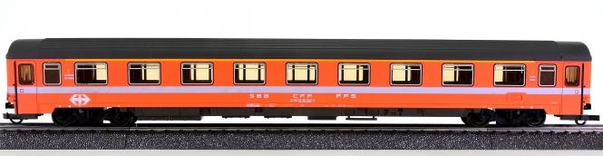 Roco 54236D – 1. Klasse Eurofima Schnellzugwagen Am der SBB