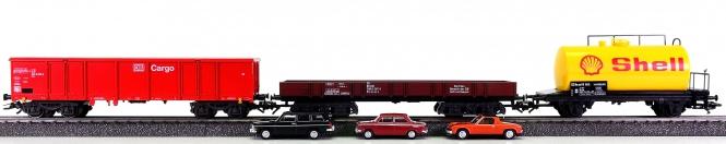 Märklin – 3-teiliges Güterwagen-Set der DB, aus Packung 29153