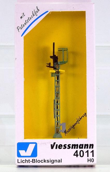 Viessmann 4011 – Licht-Blocksignal, mit 2 LEDs