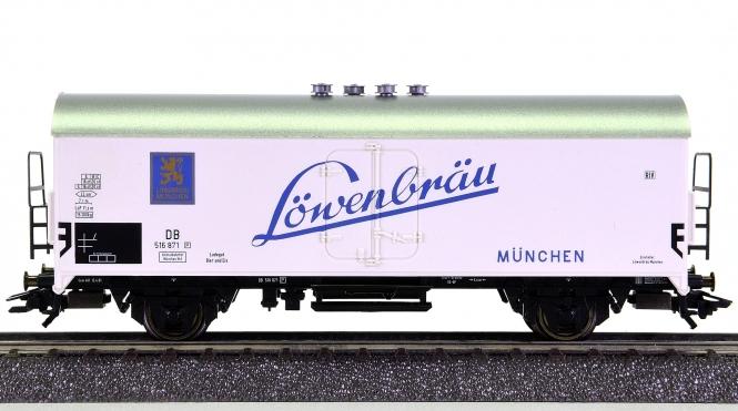 Märklin 45021 - Bierwagen LÖWENBRÄU der DB