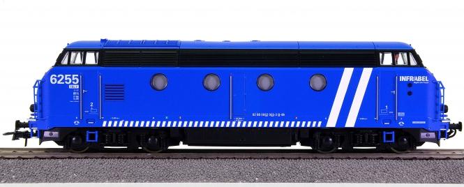 Roco 72879 – Diesellok Typ Reeks 6255 Infrabel der SNCB, digital + Sound