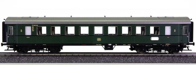 Liliput L334538 – 2. Klasse Personenwagen B4ye-29b (bay. Bauart) der DB