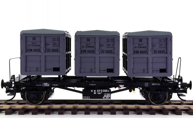 Brawa 37161 (Spur 0) - Behältertragwagen Lbs 577 der DB
