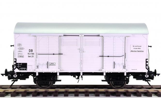 Lenz 42218 (Spur 0) - Milchtransportwagen Geh 20 der DB