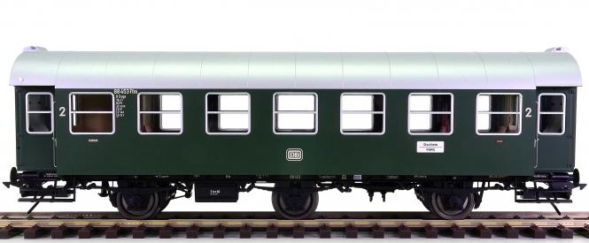 Lenz 41241-03 (Spur 0) – 2. Klasse Umbauwagen B3yge der DB, digital