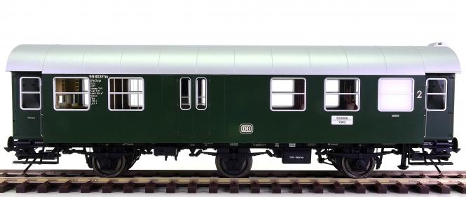 Lenz 41242-02 (Spur 0) – 2. Klasse Halbgepäck-Umbauwagen der DB, digital