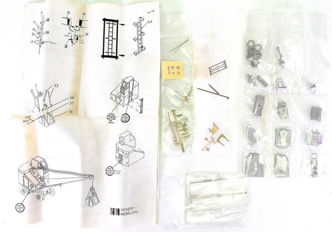 Weinert 4347 (H0) – Bausatz Fuchs Hilfsbekohlungskran