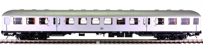 MBW 51101 (Spur 0) – 2. Klasse Silberling der DB, digital + Telex