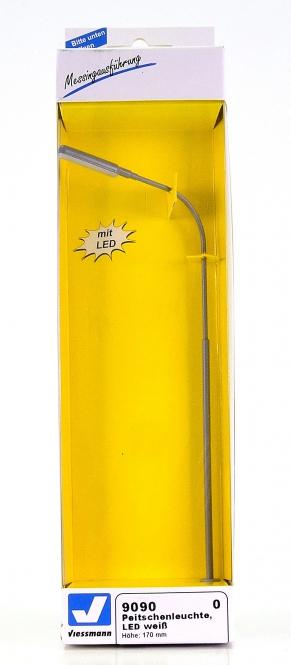 Viessmann 9090 (Spur 0) – Peitschenleuchte mit LED