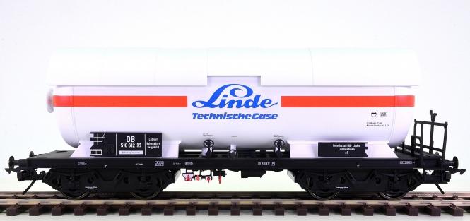 MBW 80515 (Spur 0) – Druckgaskesselwagen LINDE der DB