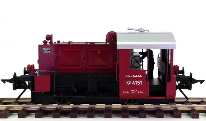 Lenz 40150-01 (Spur 0) – Rangier-Diesellok Köf II der DB, digital + Sound + Telex